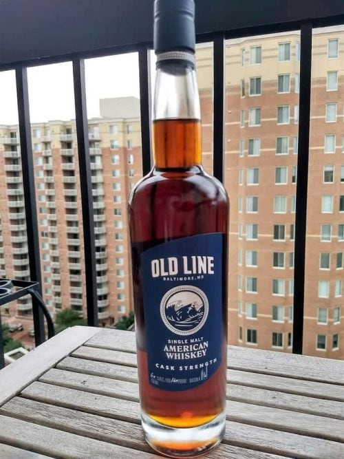 old line american single malt cask strength review