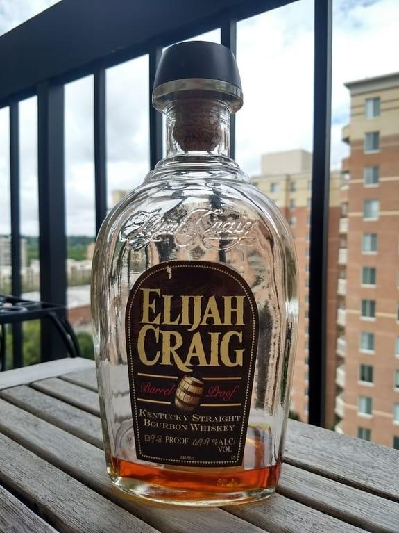 Elijah Craig Cask Strength compressed