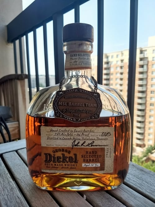 George Dickel 14 barrel select review