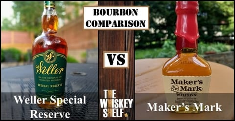 Weller SR vs Maker's Mark 2