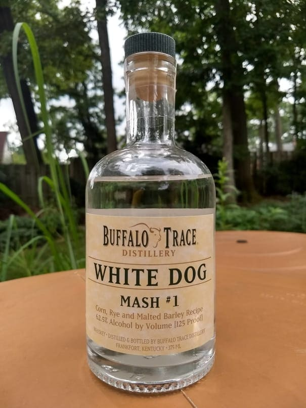 buffalo trace white dog review