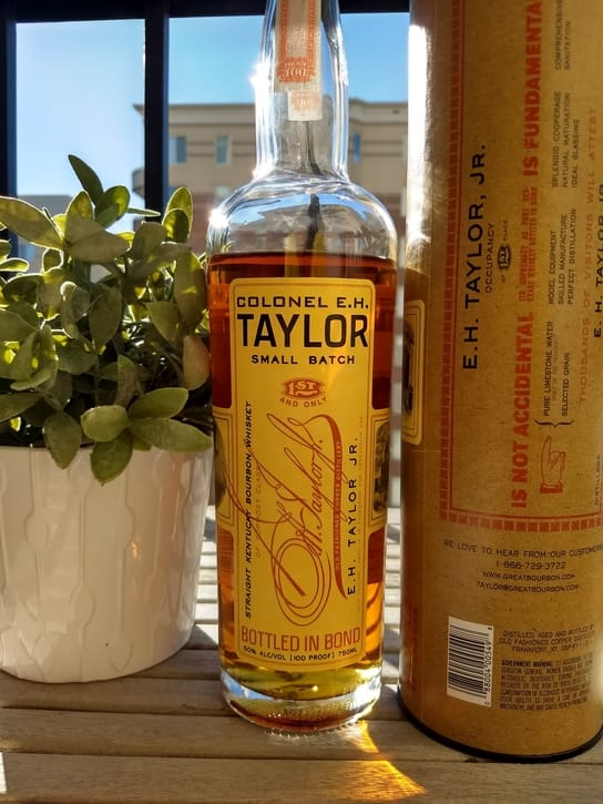 EH Taylor Small batch compressed