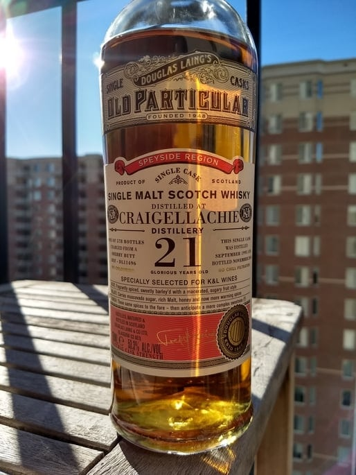 craigellachie 21 review