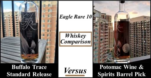 eagle rare comparison: standard vs potomac wine and spirits