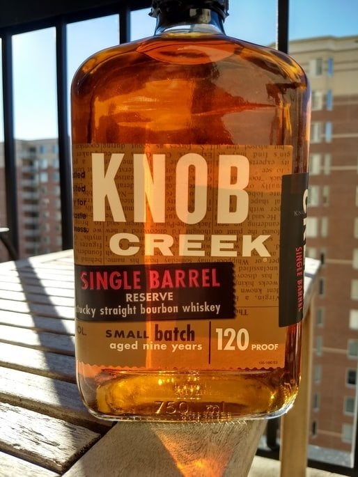 knob creek single barrel review