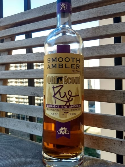 Smooth Ambler Old Scout 7 Year Rye