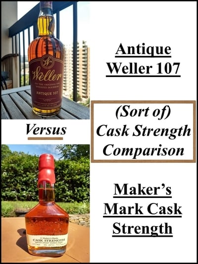 Weller 107 vs maker's cs 1 compressed
