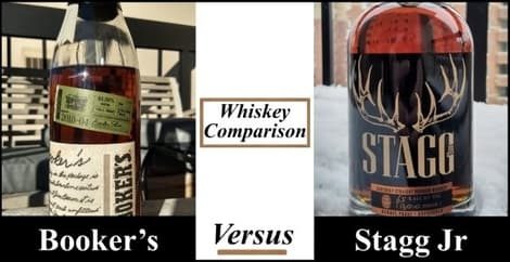 booker's vs stagg jr comparison