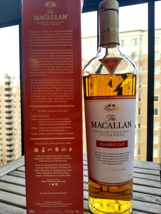 macallan classic cut front compressed