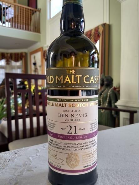 Old Malt Ben Nevis 21