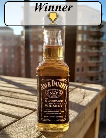 Jack Daniels vs Gentleman Jack winner