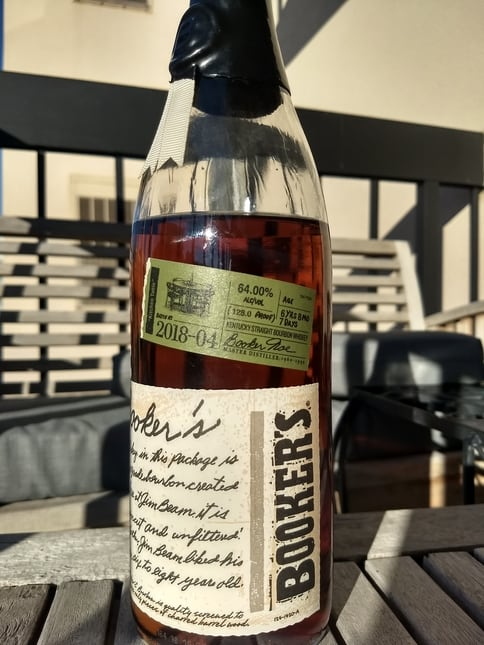 In Depth Booker S Kitchen Table 2018 04 Review The Whiskey Shelf