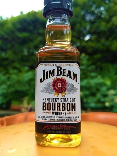 Jim Beam White compressed