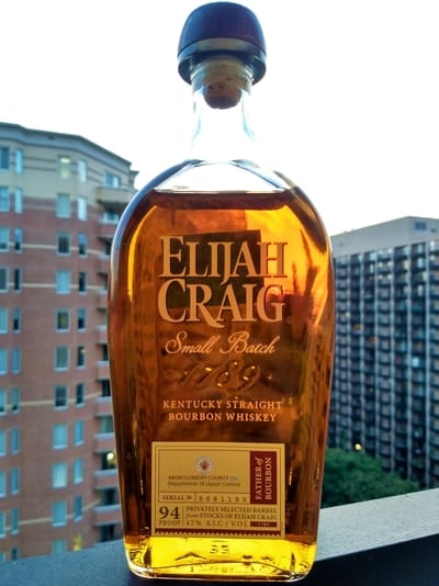 Elijah Craig Pick 8 year compressed