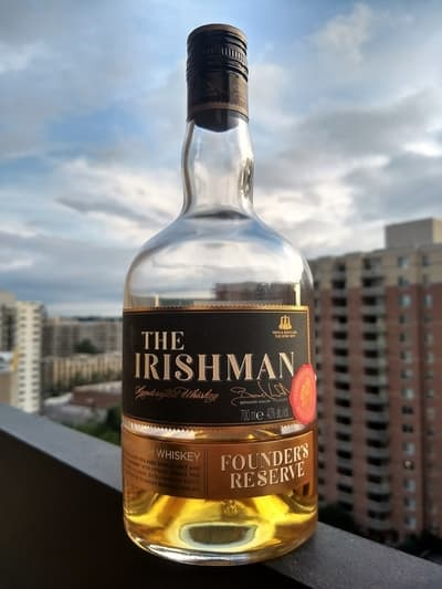 Irishman founders reserve compressed