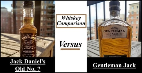 Jack Daniels vs Gentleman Jack comparison