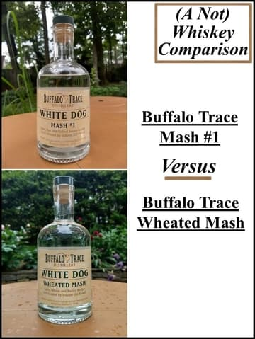 buffalo trace mash #1 vs wheated mash 1 compressed