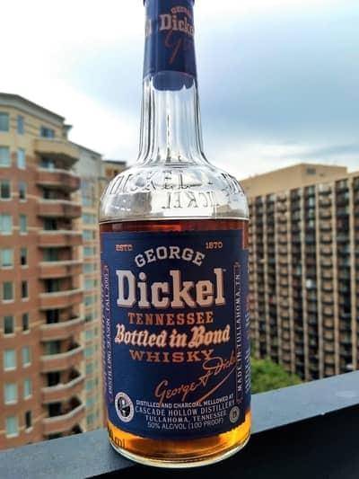 George dickel bottled in bond review