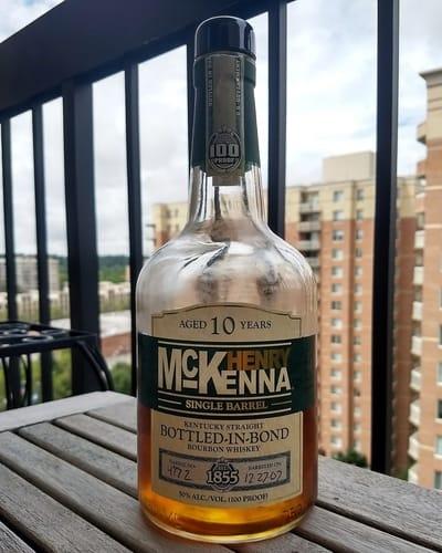 Henry McKenna 10 bib