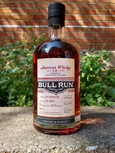 bull run 12 year pinot noir finisned seelbach
