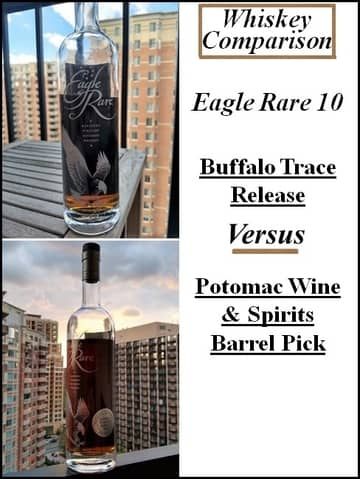 eagle rare vs store pick 1 compressed