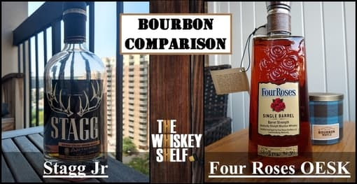 stagg jr 7 vs four roses oesk private select 2