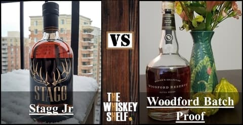 stagg jr 7 vs woodford batch proof 2