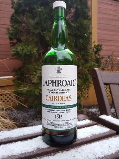 Laphroaig cairdeas triple wood compressed