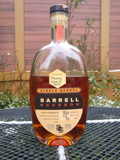 barrell single barrel potomac wine and spirits compressed
