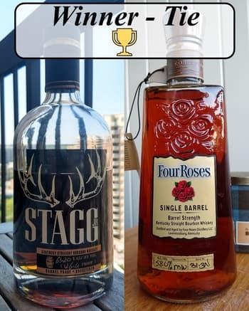 stagg jr 7 vs four roses oesk private select winner