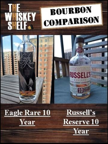Eagle Rare 10 vs Russell's Reserve 10 1 compressed