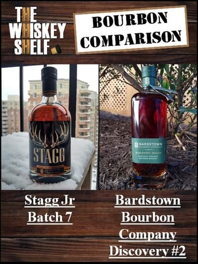 stagg jr 7 vs bardstown bourbon company discovery 2 – 1 compressed