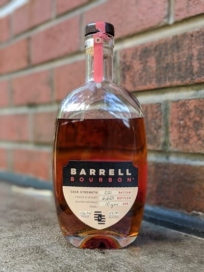 barrell bourbon batch 21 review
