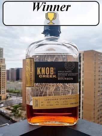 knob creek single barrel 9 year vs 14 year winner