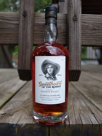 kooper family sweetheart of the rodeo bourbon compressed