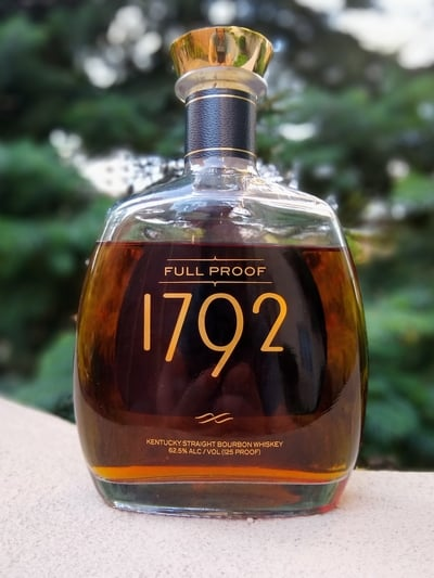 In Depth 1792 Full Proof Bourbon Review The Whiskey Shelf