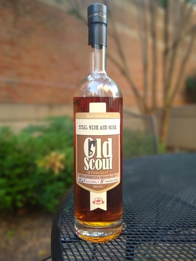 SAOS 5 yr single barrel bourbon TW pick 2020 compressed