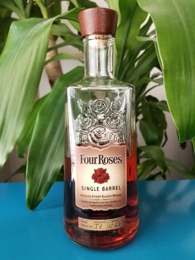 four roses single barrel bourbon compressed