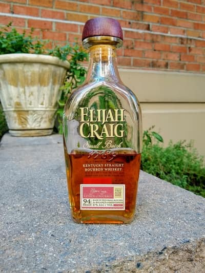 Elijah Craig Small Batch compressed