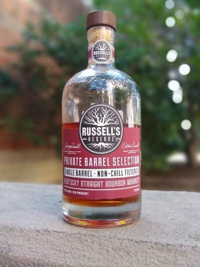 Russell's Reserve Single Barrel Total Wine June 2020 compressed