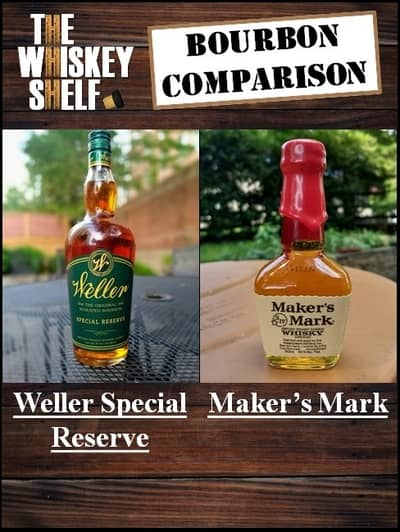 Weller SR vs Maker's Mark 1 compressed