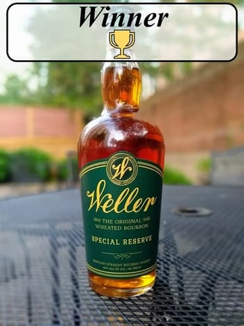 Weller SR vs Maker's Mark winner
