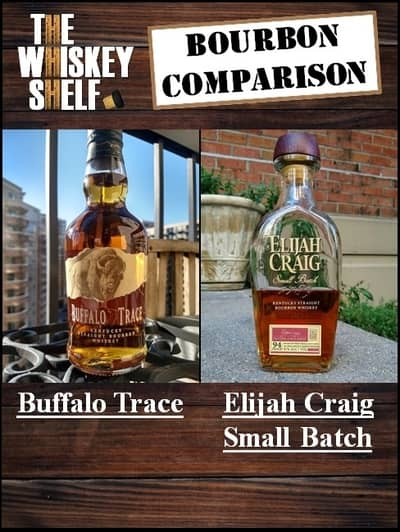 buffalo trace vs elijah craig small batch 1