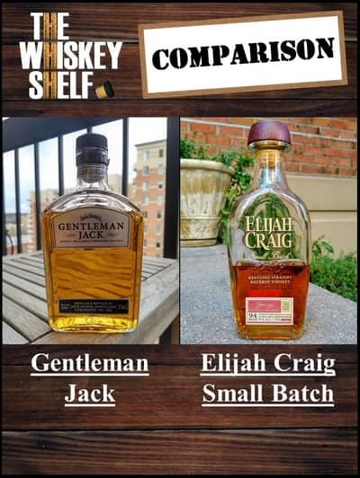 Gentleman Jack vs Elijah Craig Small Batch 1 compressed