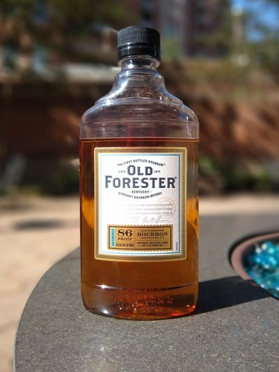Old Forester Bourbon 43 ABV compressed
