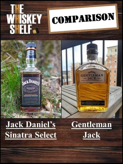 Sinatra select vs Gentleman Jack 1 compressed