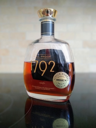 1792 full proof bourbon broudy pick compressed