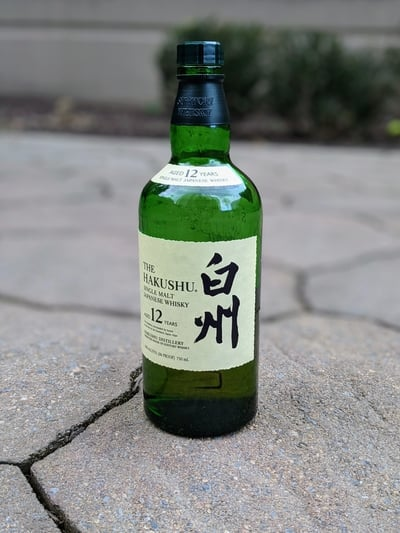 hakushu 12 year compressed
