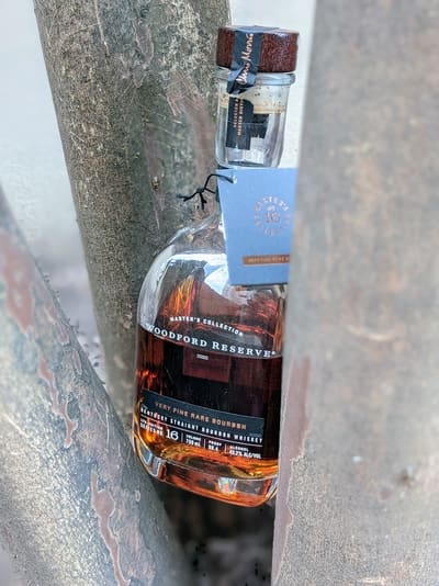 woodford reserve very fine rare bourbon compressed