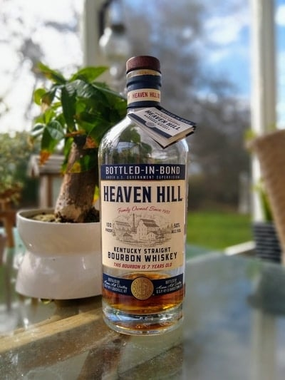 heaven hill bottled in bond 7 year compressed